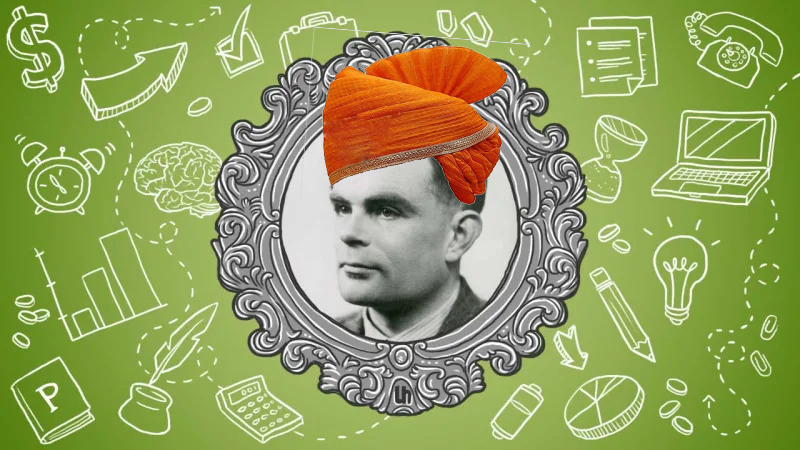 How Father Of AI, Sir Alan Turing  Is Connected To INDIA !!!