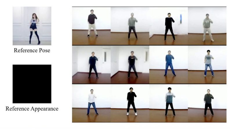 Shake Your Booty AI Deepfakes Dance Moves From a Single Picture